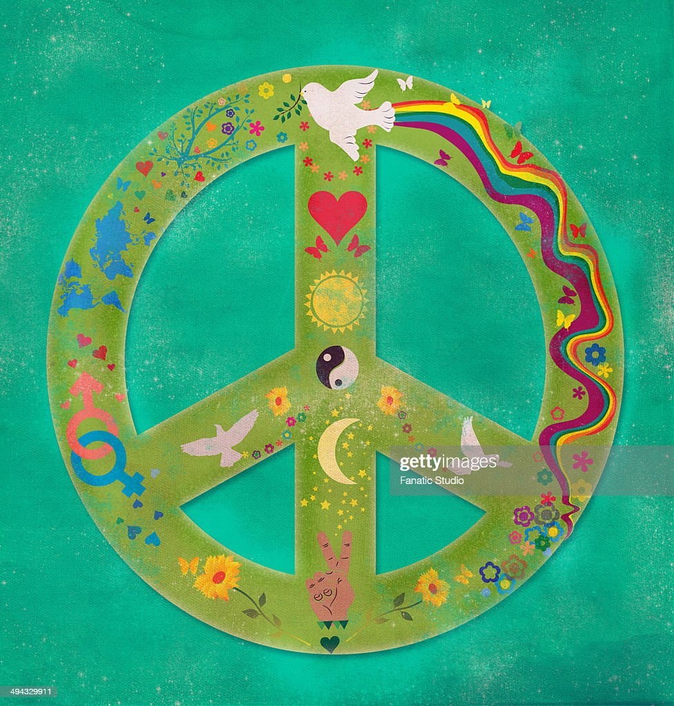 Illustrative image of peace symbol stock illustration getty images illustrative image of peace symbol stock illustration buycottarizona
