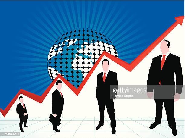 Illustrative representation of global profit