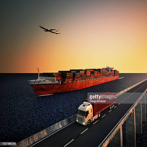image representing means of goods transport - nautical vessel stock illustrations