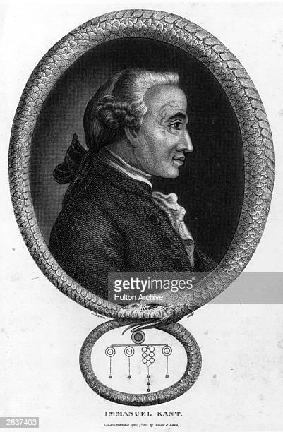 Immanuel Kant the German philosopher