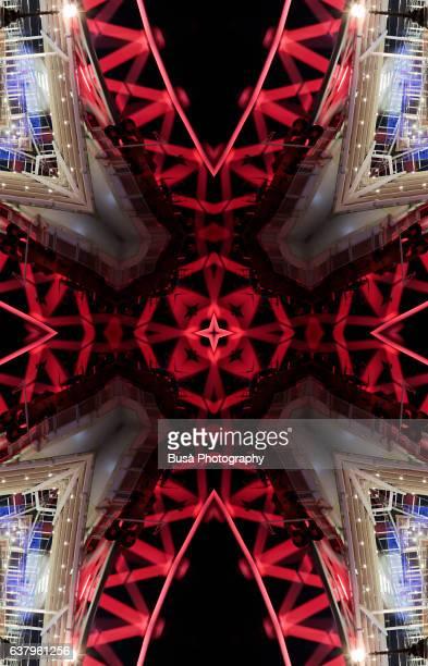 ilustraciones, imágenes clip art, dibujos animados e iconos de stock de impossible architectures: structural details of the millennium wheel (london eye), in london, uk - ingeniero civil
