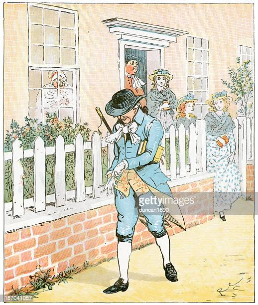 in islington there lived a man - sunday best stock illustrations, clip art, cartoons, & icons