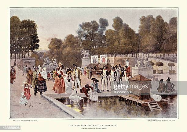 In the Garden of the Tuileries