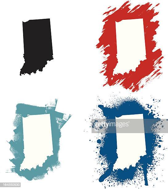 indiana - indiana stock illustrations