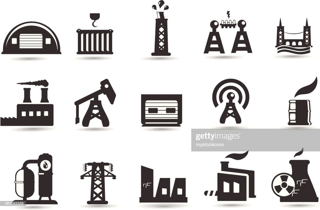Industry and Factory Icons