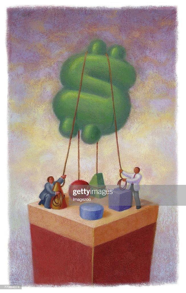 inflation : Ilustração