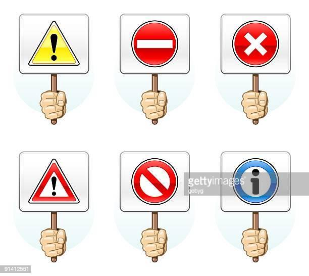 illustrations, cliparts, dessins animés et icônes de info les panneaux à repasser - panneau sens interdit