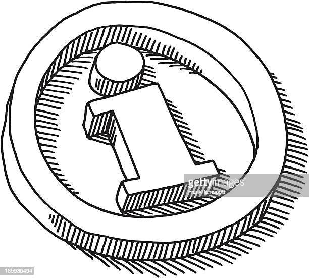 information symbol drawing - information symbol stock illustrations, clip art, cartoons, & icons