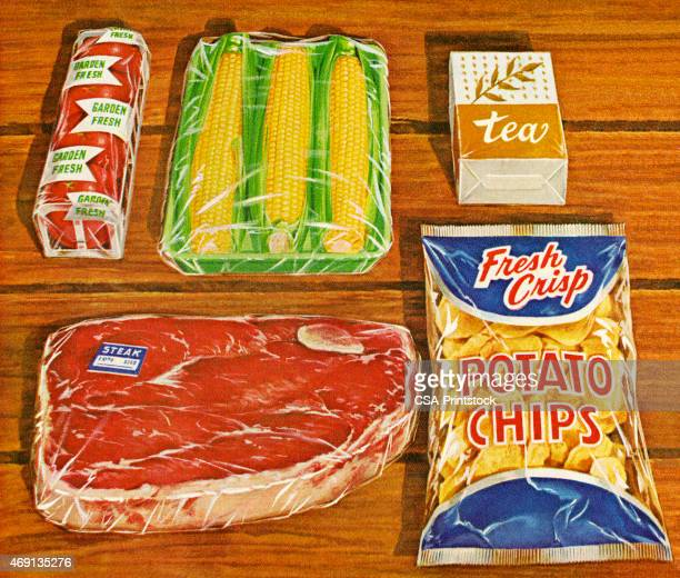 Ingredients for a Steak Dinner