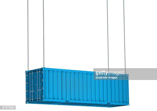 international container for cargo knockout, cutout - cargo container stock illustrations