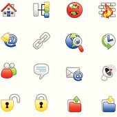 Internet icons (colored series)