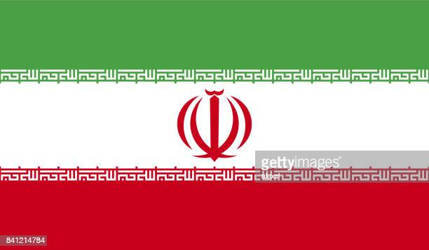 iran flag - iranian culture stock illustrations, clip art, cartoons, & icons