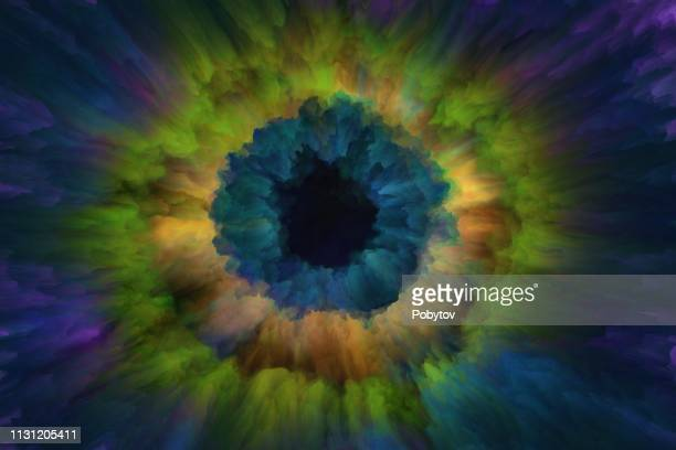 iris, digital painting