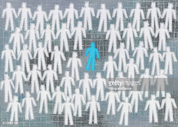 isolated blue man - surrounding stock illustrations, clip art, cartoons, & icons