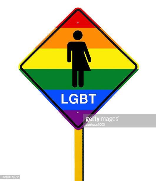 絶縁 lgbt ロゴの道路標識 - ゲイ・パレード点のイラスト素材/クリップアート素材/マンガ素材/アイコン素材
