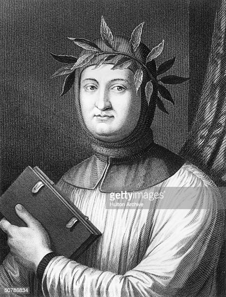 Italian poet Francesco Petrarch who was educated at Bologna traveled in France Flanders and Rheinland and was crowned Poet Laureate in Rome in 1341...