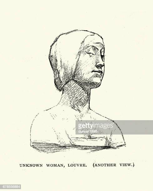 Italian renaissance statue of a woman