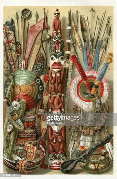 ilustraciones, imágenes clip art, dibujos animados e iconos de stock de artículos de la ilustración de la tribu norteamericana indígena - indios americanos sioux