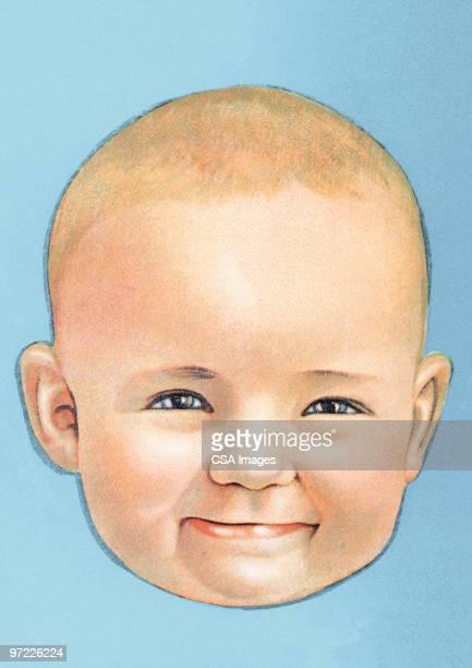 jack - baby stock illustrations