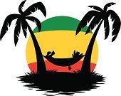 Jamaican hammock