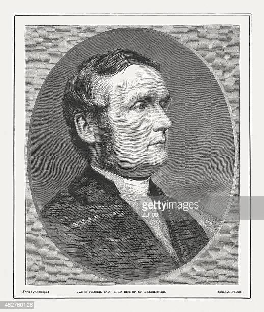 james fraser (1818 - 1885), anglican bishop, published 1873 - anglican stock illustrations
