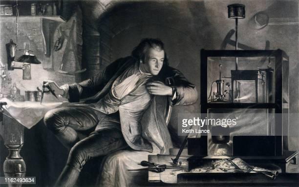 ジェームズ・ワット、現代の蒸気機関の父 - 発明家点のイラスト素材/クリップアート素材/マンガ素材/アイコン素材