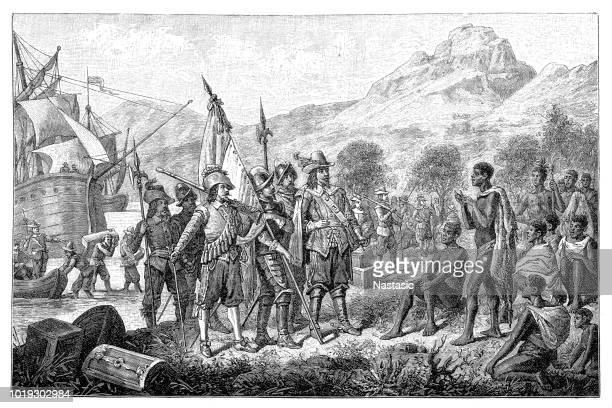 Jan van Riebeeck arrives in Table Bay in April 1652