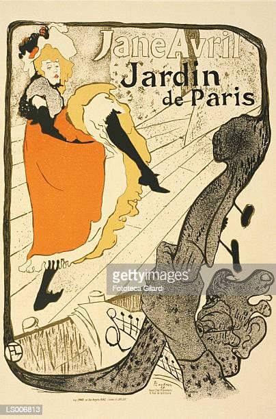 Jane Avril at the Jardin de Paris