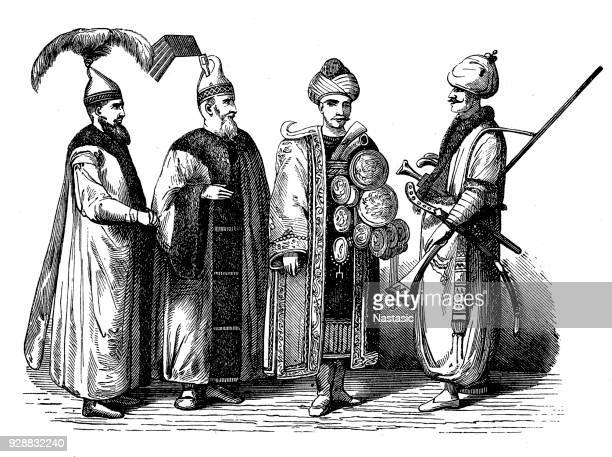 Janissaries from the end of the 17th century