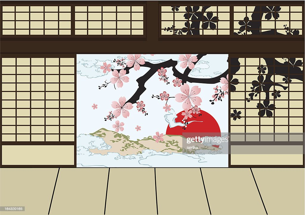 Japanese room  design