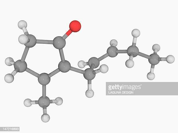 jasmone molecule - ジャスミン点のイラスト素材/クリップアート素材/マンガ素材/アイコン素材