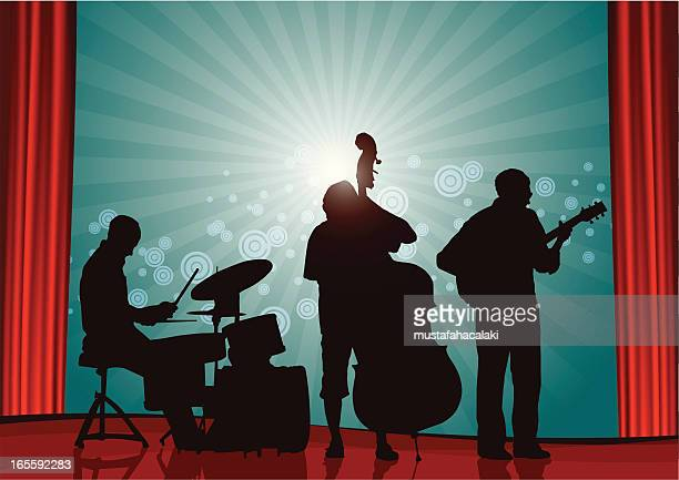 illustrations, cliparts, dessins animés et icônes de concert de jazz - jazz