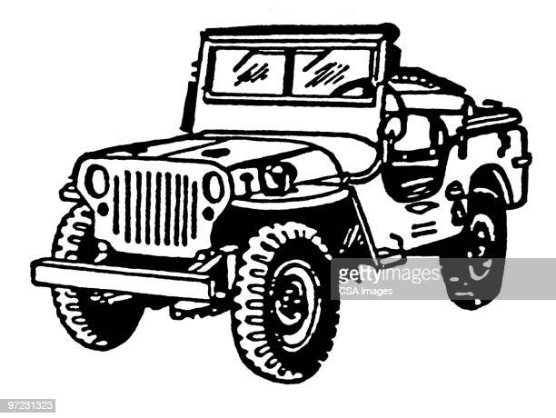 57 Military 4x4 Stock Illustrations Clip Art Cartoons Icons
