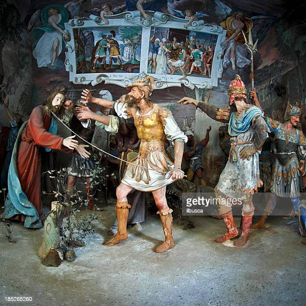 jesus' capture - arrest stock illustrations, clip art, cartoons, & icons