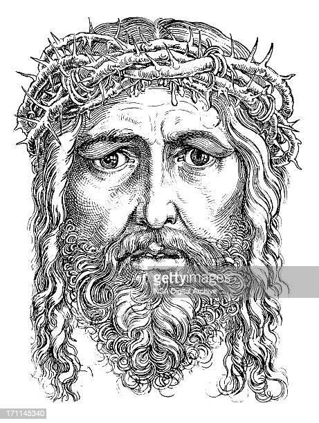 ilustrações de stock, clip art, desenhos animados e ícones de jesus cristo/antiguidade bíblia ilustrações - jesus cristo