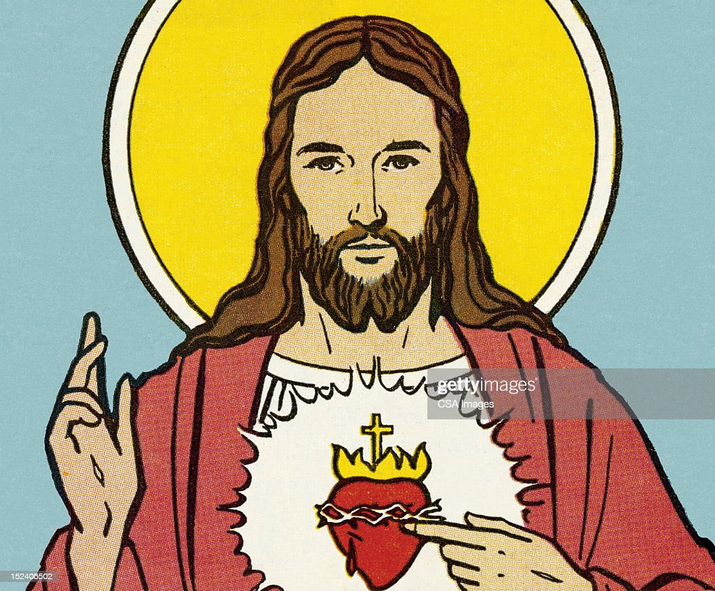 Jesus Christ : stock illustration