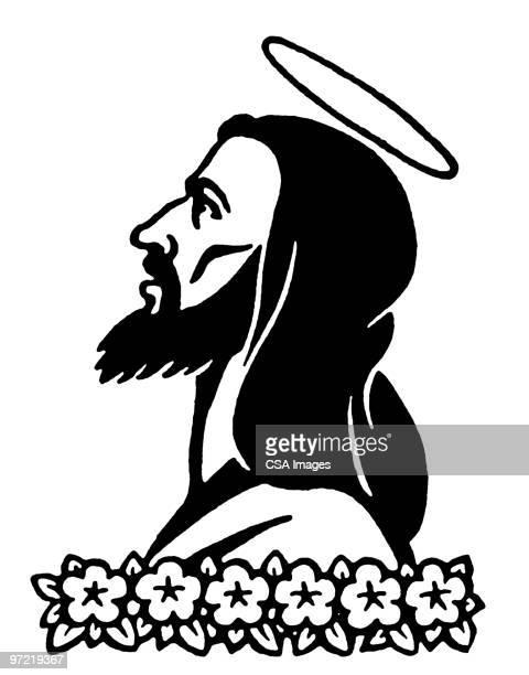 illustrations, cliparts, dessins animés et icônes de jesus christ - impatient