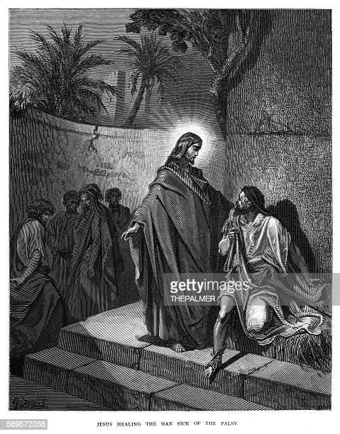 Jesus healing the sick man 1870