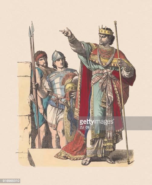 World's Best David Biblical King Stock Illustrations ...