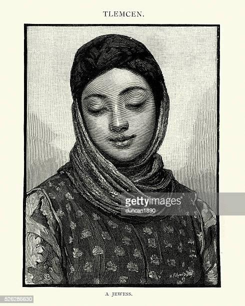 Jewish woman of Tlemcen, Algeria, 19th Century