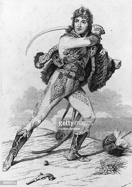 Joachim Murat a French general under Napoleon I who married the emperor's sister Caroline and later became King of Naples Original Artwork Engraving...
