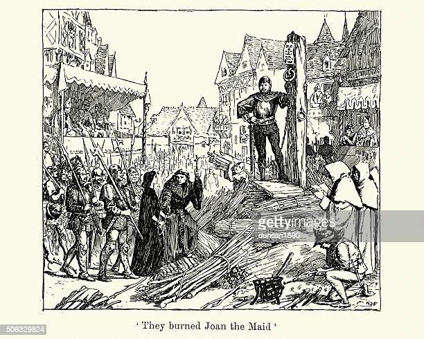 Joan of Arc burnt at the Stake