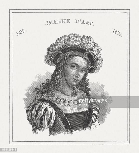 Joan of Arc (c.1412-1431), Heroine of France, published in 1843