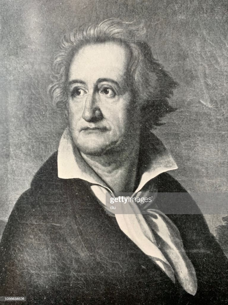Johann Wolfgang Von Goethe High Res Vector Graphic Getty
