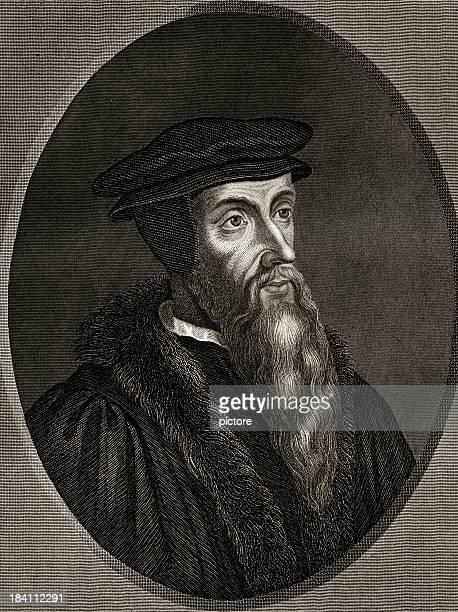 John Calvin sepia toned (XXXL)