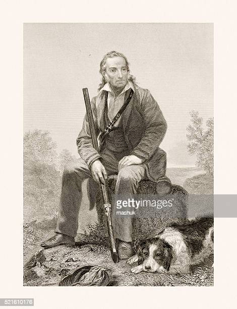 John James Audubon, 19 century portrait