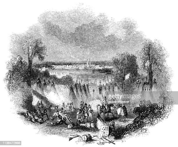 John Talbot's Military Camp at Bordeaux in France - Works of William Shakespeare