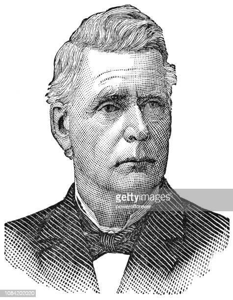 e. johnson, irish land league of america - e league stock illustrations