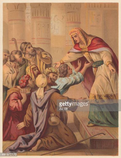 joseph forgives his brothers (genesis 45), chromolithograph, published in 1886 - forgiveness stock illustrations, clip art, cartoons, & icons