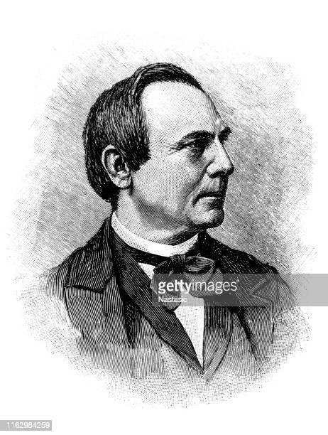 ilustrações, clipart, desenhos animados e ícones de joseph hubert reinkens (1 de março de 1821-4 de janeiro de 1896) foi o primeiro bispo católico velho alemão - bishop clergy